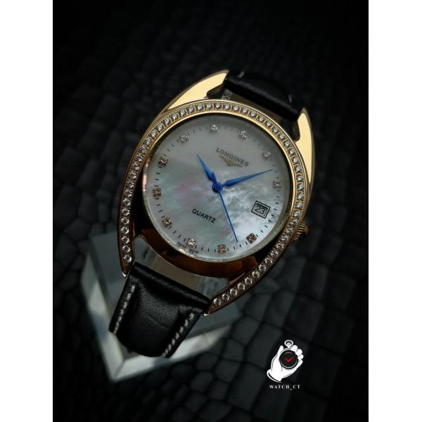 ساعت لونژین صفحه صدفی LONGINES