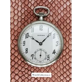 ساعت کلکسیونی موادو جیبی  vintage rare MOVADO swiss
