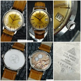 ساعت کلکسیونی امگا سیمستر 600 -  vintage OMEGA swiss